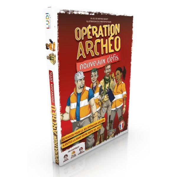 Opération Archéo - Extension Nouveaux Défis