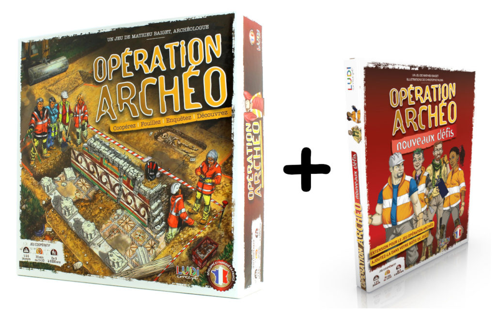 Opération Archéo complete pack
